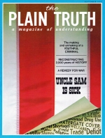 Why are we here? Plain Truth Magazine September 1973 Volume: Vol XXXVIII, No.8 Issue: