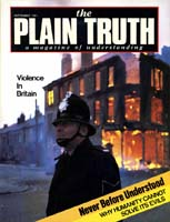 STOPPING JUVENILE CRIME at Its Roots Plain Truth Magazine September 1981 Volume: Vol 46, No.8 Issue: ISSN 0032-0420