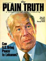 And Now U.S. FARMERS FACE A NEW CRISIS Plain Truth Magazine September-October 1982 Volume: Vol 47, No.8 Issue: