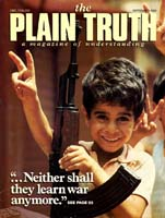 Today's Child-Care Crisis Plain Truth Magazine September 1985 Volume: Vol 50, No.7 Issue: