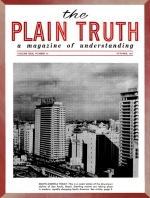 Inside South America Plain Truth Magazine October 1957 Volume: Vol XXII, No.10 Issue: