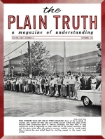 Do We Have The COMPLETE BIBLE? Plain Truth Magazine October 1959 Volume: Vol XXIV, No.10 Issue: