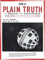 Personal from the Editor Plain Truth Magazine October 1962 Volume: Vol XXVII, No.10 Issue: