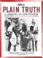 COMING - A WORLD GOVERNMENT to bring peace in our time! Plain Truth Magazine October 1964 Volume: Vol XXIX, No.10 Issue: