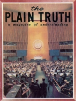 The Meaning Behind THE GERMAN ELECTIONS Plain Truth Magazine October 1965 Volume: Vol XXX, No.10 Issue: