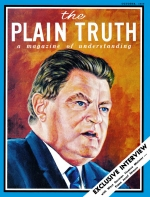 Exclusive Interview with - West Germany's Finance Minister FRANZ JOSEF STRAUSS Plain Truth Magazine October 1968 Volume: Vol XXXIII, No.10 Issue: