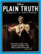 Plain Truth Magazine October-November 1970 Volume: Vol XXXV, No.10-11 Issue: