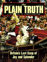Coming Soon: A WORLD AT PEACE! Plain Truth Magazine October-November 1981 Volume: Vol 46, No.9 Issue: ISSN 0032-0420