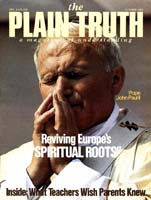 RELIGIOUS REAWAKENING ... Needed in Our Time? Plain Truth Magazine October 1983 Volume: Vol 48, No.9 Issue:
