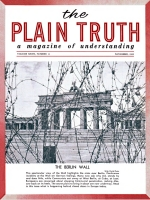 WE TOLD You So! Plain Truth Magazine November 1962 Volume: Vol XXVII, No.11 Issue: