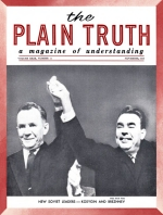 COMING - A Catholic-Protestant Bible? Plain Truth Magazine November 1964 Volume: Vol XXIX, No.11 Issue: