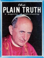 THE MEANING OF POPE PAUL'S U.N. VISIT Plain Truth Magazine November 1965 Volume: Vol XXX, No.11 Issue: