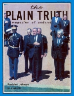 Personal from the Editor Plain Truth Magazine November 1966 Volume: Vol XXXI, No.11 Issue: