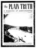 The Bible Answers Short Questions From Our Readers Plain Truth Magazine December 1956 Volume: Vol XXI, No.12 Issue: