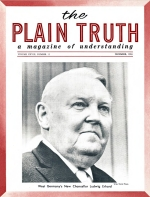 Personal from the Editor Plain Truth Magazine December 1963 Volume: Vol XXVIII, No.12 Issue: