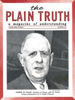 Are You Committing Slow Suicide? Plain Truth Magazine December 1964 Volume: Vol XXIX, No.12 Issue: