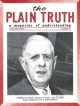 Plain Truth Magazine December 1964 Volume: Vol XXIX, No.12 Issue: