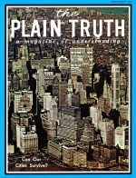 THE GREAT DEPRESSION COULD it Happen AGAIN? Plain Truth Magazine December 1970 Volume: Vol XXXV, No.12 Issue: