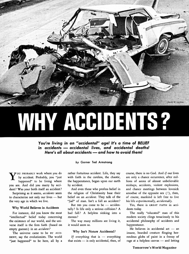 Why Accidents?