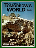 The Real Jesus Tomorrow's World Magazine March 1971 Volume: Vol III, No. 03