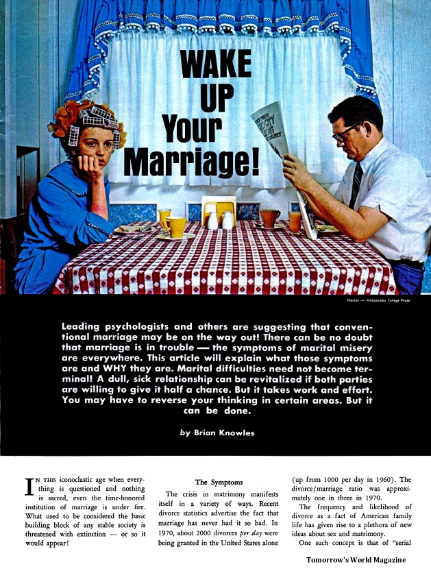 Wake Up Your Marriage!