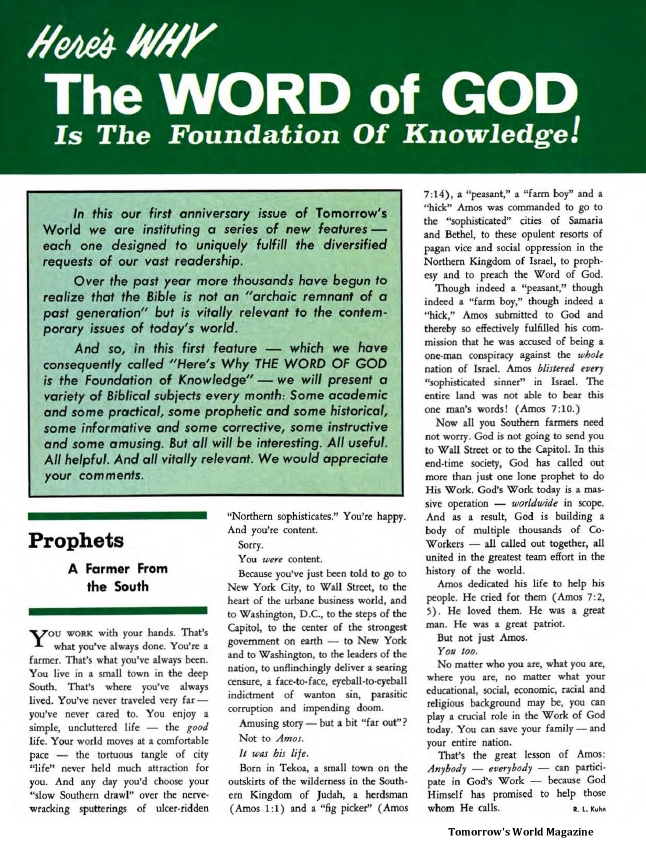 Here's WHY The WORD of GOD Is The Foundation Of Knowledge!
