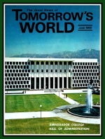 The ANSWER to UNANSWERED Prayer Tomorrow's World Magazine June 1969 Volume: Vol I, No. 1