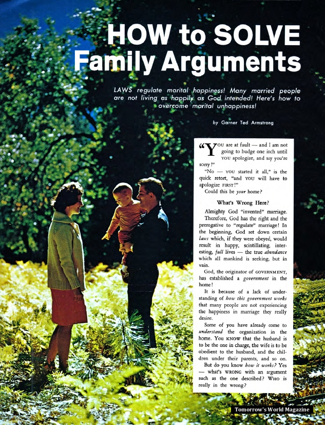 How to Solve Family Arguments