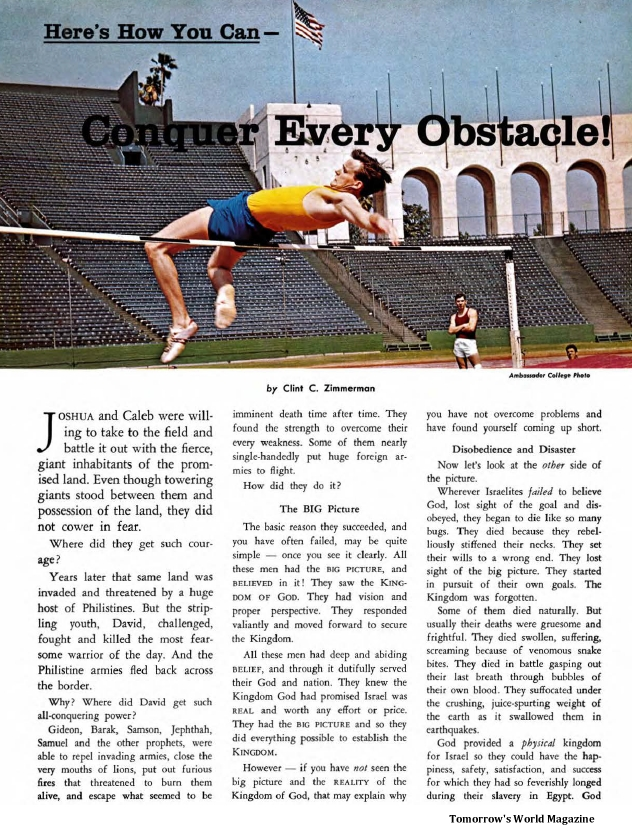 Here's How You Can - Conquer Every Obstacle!