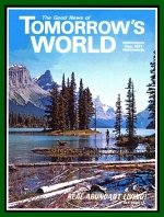 God Is The Only Hope Tomorrow's World Magazine December 1971 Volume: Vol III, No. 12