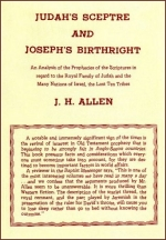 Judah's Septere and Joseph's Birthright