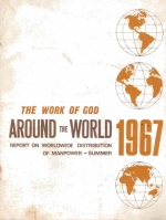 Worldwide Church of God - Distribution of Manpower 1967