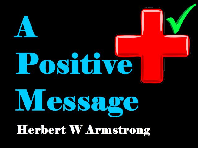 A Positive Message