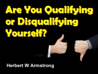 Listen to  Are You Qualifying or Disqualifying Yourself?