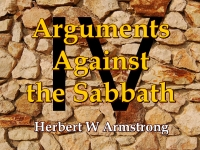 Listen to  Arguments Against the Sabbath