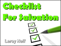Listen to  Checklist For Salvation