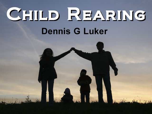 thesis child rearing A father's approach to child rearing differs from that of a  i am conducting research for a class at the master's college on stress and stress management of.