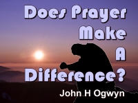 Listen to  Does Prayer Make A Difference?