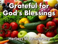 Listen to  Grateful for God's Blessings