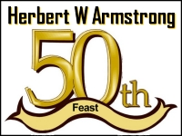 Listen to  Herbert W Armstrong's 50th Feast