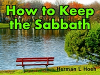 Listen to  How to Keep the Sabbath