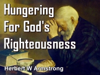 Listen to  Hungering For God's Righteousness