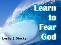 Listen to  Learn to Fear God