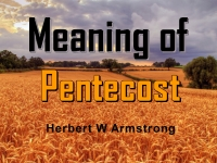 Listen to  Meaning of Pentecost