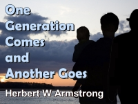 Listen to  One Generation Comes and Another Goes