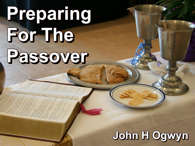 Preparing For The Passover