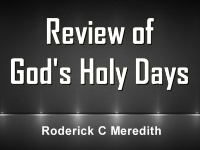 Listen to  Review of God's Holy Days