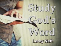 Listen to  Study God's Word