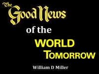 Listen to  The Good News of the World Tomorrow
