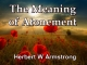 The Meaning of Atonement